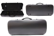New Double Violin Case Carbon Fiber Hold 2pcs Violin Case Oblong Case yinfente
