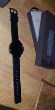 Huawei Watch Active mit Lederband in Schwarz Smartwatch