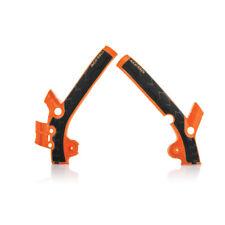 Acerbis X-Grip Protector de cuadro para bicicleta de MX-KTM SX85 13-17 - KTM 16 (naranja oscuro)