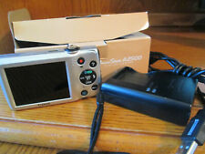Canon A2500 16.0MP Digital Camera Silver With Battery Charger SD Card & Box