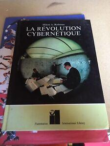 Livre LA REVOLUTION CYBERNETIQUE 1972 Robot Machine Pensante technologie