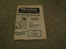 Goldmine - No. 11 - July 1976 - Del Shannon Cover