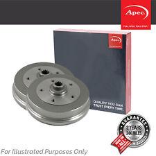 Fits Seat Ibiza MK4 1.2 12V Genuine OE Quality Apec 5 Stud Brake Drums