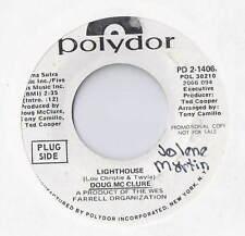 DOUG MCCLURE Lighthouse / Mr. and Mrs. Untrue 45 RECORD DJ PROMO SOUL