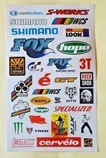 "Sticker Decal Aufkleber Set (SpoT) ""Motorsport Mix""- Modellbau, Stickerbomb"