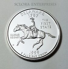 1999 S DELAWARE  *90% SILVER PROOF*  STATE QUARTER   **FREE SHIPPING**