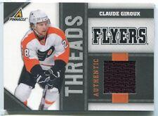 2010-11 Pinnacle Threads CG Claude Giroux Jersey /499