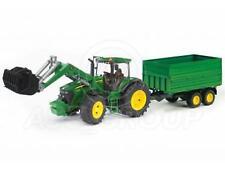 Bruder Toys 03055 Pro Series John Deere 7930 TRACTOR + Front Loader Trailer 1:16