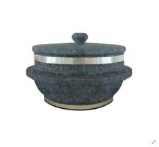 Korean Stone Pot Dolsot For Korean Cuisine