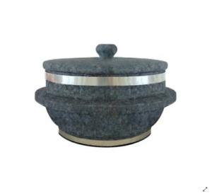 Small Korean Stone Pot Dolsot for Korean Cuisine for one person