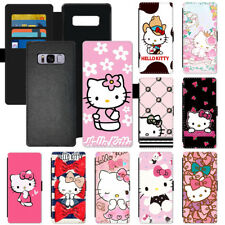 Popular Cartoon Hello Kitty Flip PU Leather Wallet Phone Case Cover For Apple LG