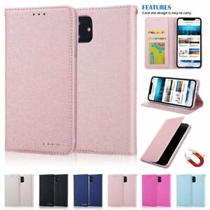 For iPhone 12 Pro Max 11 X XS XR SE Magnetic Leather Wallet Case Card Flip Cover