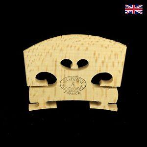 Aubert Violin Bridge 4/4 Adjustable Feet, Fitted 1501AM