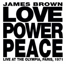 James Brown ‎CD Love Power Peace (Live At The Olympia, Paris, 1971) - Europe