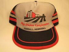 VINTAGE HAT Men's Cap HIGH PLAINS COOPERATIVE Kimball, Nebraska [Z46d]