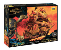 The Black Pearl: Captain Jack Sparrow's Ship Model Kit. Pirates of the Carribean
