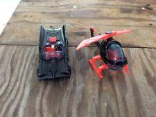 Vintage Corgi Toys Batman Lot (2) Batcopter Batmobile Made in GT Britain