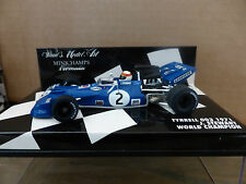 Minichamps 1:43 Jackie Stewart Tyrrell 003 F1 World Champion 1971