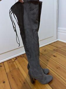 Thigh High Bardot Boots