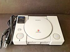 Sony PlayStation 1 PS1 Gray Console (SCPH- 7501) w/Memory Card