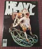 Heavy Metal Magazine January 1979 - Illustrated Fantasy Science Fiction