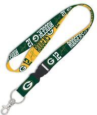 Aaron Rodgers Green Bay Packers Lanyard Schlüsselband,NFL Football Keyholder