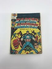 CAPTAIN AMERICA #7 - Foreign Comic Book - 1980s - MARVEL - ULTRA RARE - 4.5 VG+