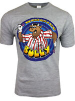 Bullseye TV Show Darts Cant beat a bit of Bully Official GREY T SHIRT all sizes