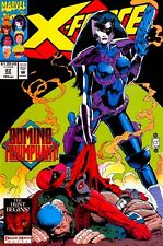 Marvel Comics 1991 X-FORCE #23 Bag/Board  Near Mint Deadpool Domino