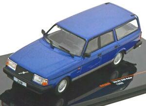 wonderful modelcar VOLVO 240 WAGON POLAR 1988 - bluemetallic -  1/43