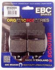 SYM VOYAGER 250 (2005) EBC Organic PASTILLAS DE FRENO DISCO DELANTERO (SFA355/4)