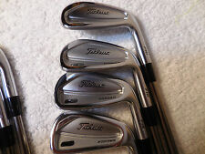 Titleist 716 CB 4-PW Iron Set Custom UST Recoil Prototype 110 F4 Stiff Shafts