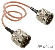 N Male to N Male 50-Ohm RG316 Coax Low Loss Jumper RF Cable