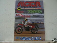 MO8649-POSTER LAVADO YAMAHA YXR250,XT600Z TENERE,MACH 3