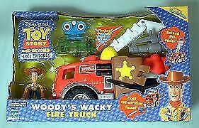 Disney Pixar Toy Story and beyond Woody's wacky Firetruck