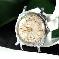KOLOS Early Vostok Vintage Soviet Russian Military USSR Mechanical Wrist Watch