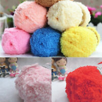 1Roll Soft Fluffy Knitted Woven Baby Kids Knitting Wool Snuggly Woolen Yarn New