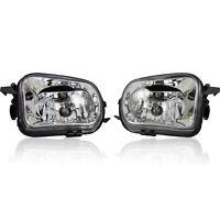 2x Nebelscheinwerfer Klarglas Chrom für Mercedes W203 CL203 CLK C209 SLK R171