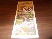 1964 AAA Washington, DC/Annapolis/Mt. Vernon Vintage Road Map
