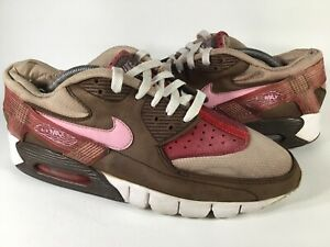 Nike Air Max 90 Current DQM Bacon Pink Red Brown White Tan Mens Size 9.5 Rare