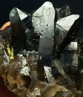 Natural Smoky Quartz crystal terminated single piece from skardu, Pakistan.