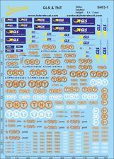 Versand und Paket Decal GLS & TNT 1 / 1,1 - 7 mm (140x90 mm) SH03-1