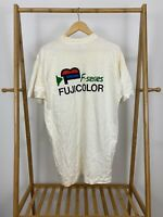 VTG 90s F-Series Fujicolor Short Sleeve T-Shirt Size XL USA