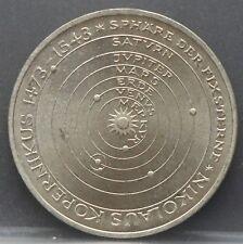 "Duitsland - Germany 5 mark 1973 J ""500th birthday Nikolaus Kopernikus"" KM# 136"