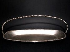 Handsome Vintage Early 20th Century Silver Plated Candy Tray-Bowl With Handle!