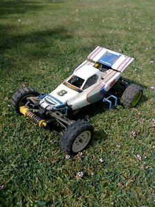 Vintage Tamiya Boomerang RC 1/10 buggy 4 WD