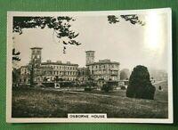 OSBORNE HOUSE  Isle of Wight   Original 1930's Vintage Photocard