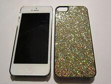 Gold Fashion Glitter iPhone SE 5S 5G 5 DIAMOND BLING Designer Luxury Full Case