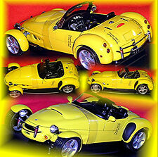 Panoz AIV Roadster 1996-99 Yellow 1:18 AUTOart