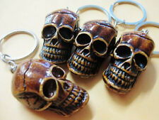 skull head gothic biker key chain Daily 8 pcs men's tibet devil heavy